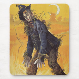 Vintage Fairy Tale Wizard of Oz Scarecrow Mouse Pad