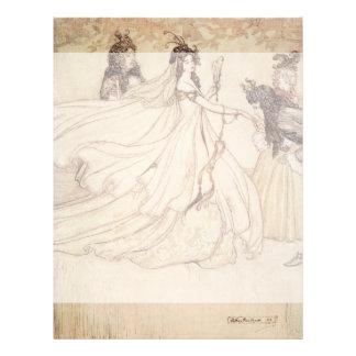 Vintage Fairy Tales, Cinderella by Arthur Rackham Flyer