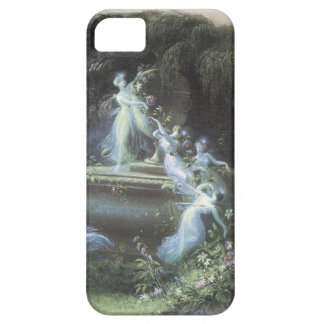 Vintage Fairy Visit At Moonlight 1832 iPhone 5 Cover