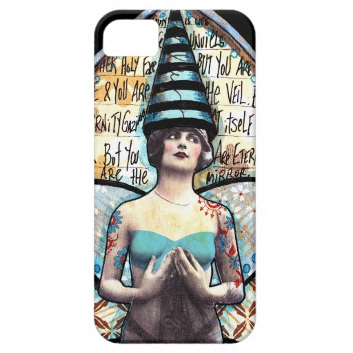 Vintage Fairy with Super Tall Crown iPhone 5/5S Cases