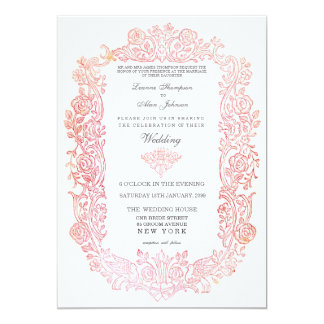 Shop Zazzle's selection of fairytale wedding invitations for your special day!