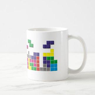 Vintage Falling Bricks Coffee Mug