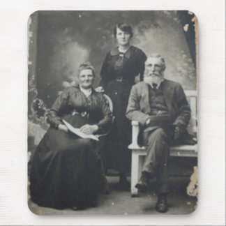 Vintage Family Photo Mousepad