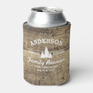 Vintage Family Reunion or Trip | Rustic Wood Trees