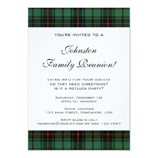 Vintage Family Reunion, Tartan Davidson Pattern Card
