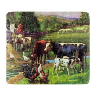 Vintage Farm Cutting Board