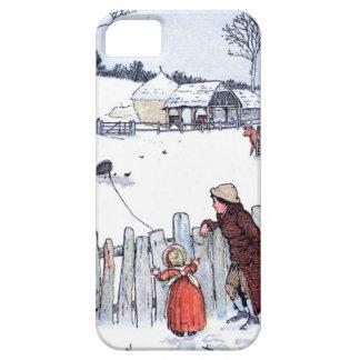 Vintage Farm Kids iPhone 5 Case