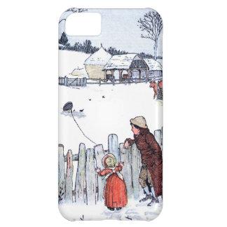 Vintage Farm Kids iPhone 5C Case