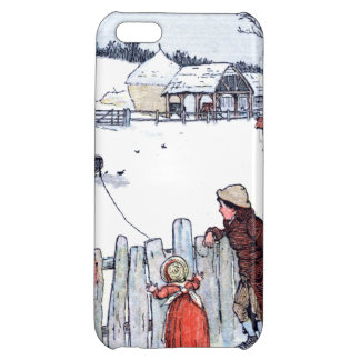 Vintage Farm Kids Cover For iPhone 5C