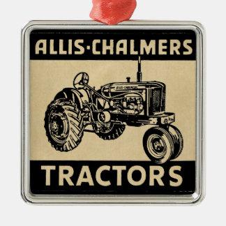Vintage Farm Tractor Christmas Ornament