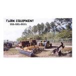 Vintage Farm Tractor Equipment