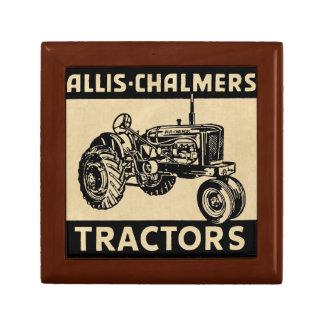 Vintage Farm Tractor Gift Box