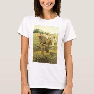 Vintage Farmers, Back to the Farm by NC Wyeth T-Shirt