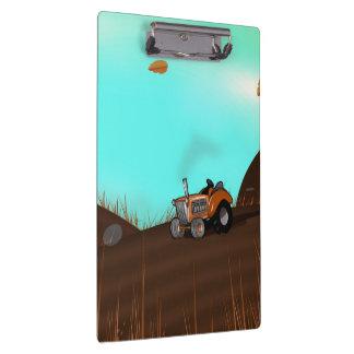 Vintage Farming Tractor Clipboards