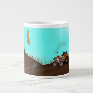 Vintage Farming Tractor Jumbo Mug