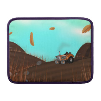 Vintage Farming Tractor Sleeve For MacBook Air
