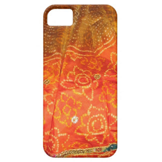 Vintage Fashion : Jaipur Print Gold with Zari Work iPhone 5 Case