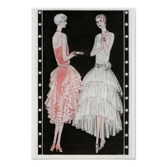 Vintage Fashion Poster