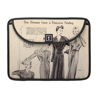 "Vintage fashion print macbook pro 13"" sleeve sleeve for MacBooks"