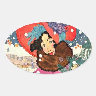 Vintage Fashion Shopaholic Stickers