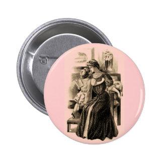 Vintage Fashions 1900 6 Cm Round Badge