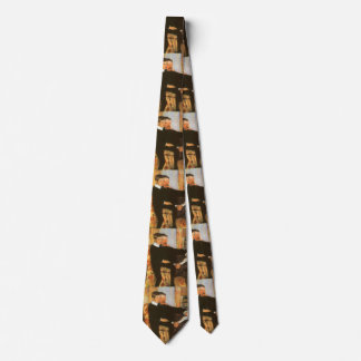 Vintage Father and Son Portrait by Mary Cassatt Tie