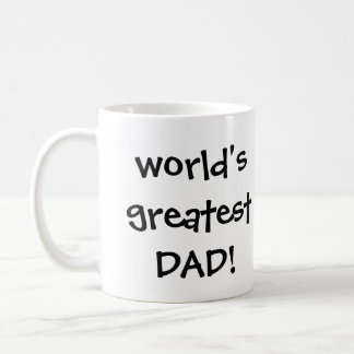 Vintage Father's Day, Happy Dad and Son Boy Coffee Mug