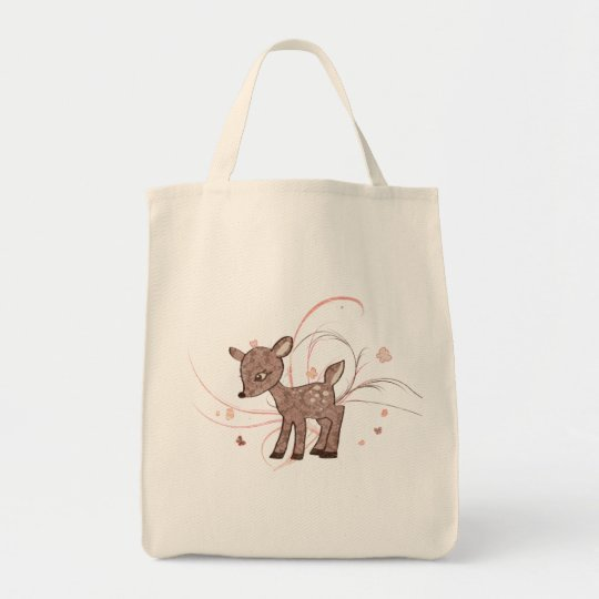 Vintage Fawn Tote
