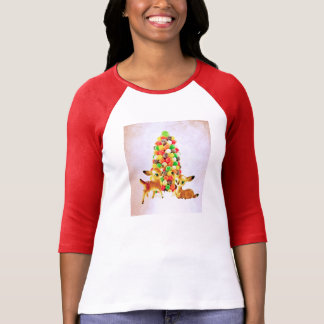 Vintage Fawns by Gumdrop Tree T-Shirt