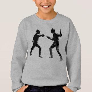 vintage fencing sweatshirt