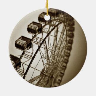 Vintage Ferris Wheel Christmas Ornament