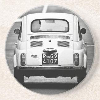 Vintage Fiat 500 coaster
