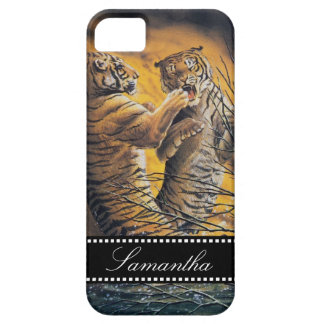 Vintage Fighting Tigers iPhone 5 Case