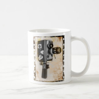 Vintage Film Camera Basic White Mug