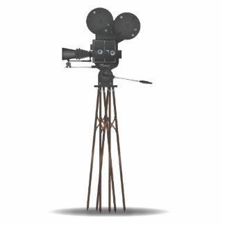 Vintage Film Camera Standing Photo Sculpture