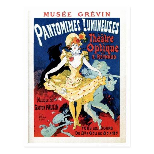 Vintage film history art nouveau postcards