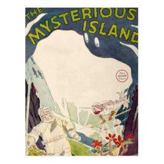 Vintage Film Movie Mysterious Island Nautical Sea Postcard