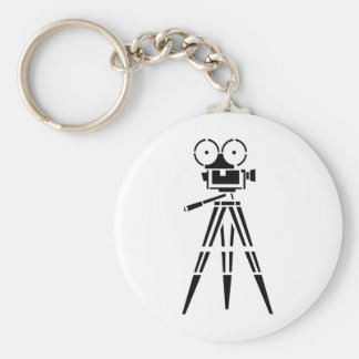 Vintage Film Movie Set Camera Key Ring