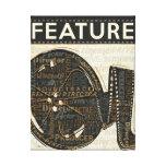 Vintage Film Reel Gallery Wrap Canvas