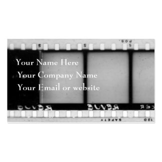 Vintage Filmstrip Business Card II