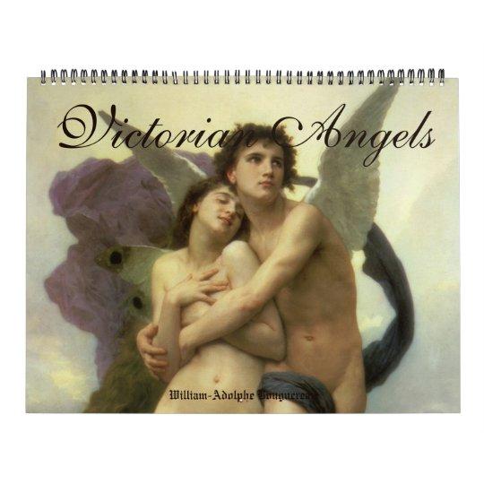 Vintage Fine Art, Victorian Era Angels Wall Calendars