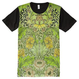 Vintage Fine Floral Pattern William Morris All-Over Print T-Shirt