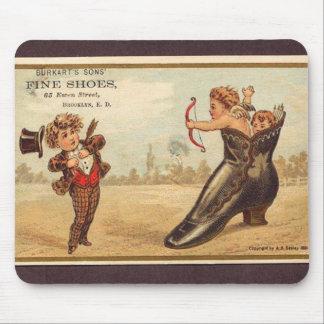 Vintage fine shoes advert mouse pad