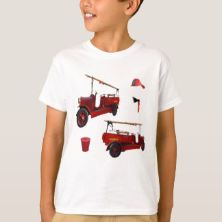 Vintage Fire Fighters Equipment, T-Shirt