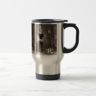 Vintage Fire Juggler Travel Mug