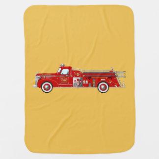 Vintage fire pumper / engine blanket pramblankets