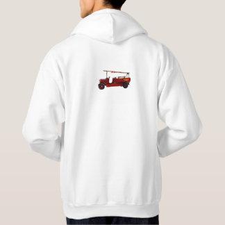 Vintage_Fire_Trucks,_Mens_White_Hooded_Sweatshirt Hoodie