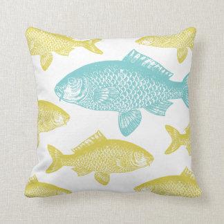 Vintage Fish Cushion