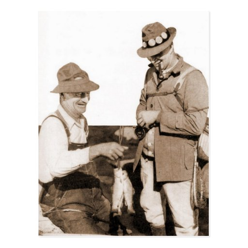Vintage Fishermen Post Cards