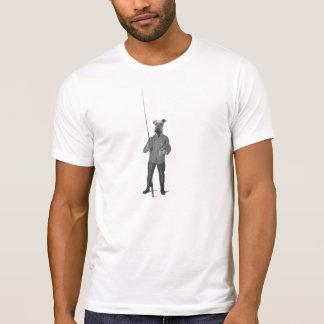 Vintage Fishing Airedale Terrier Tshirt